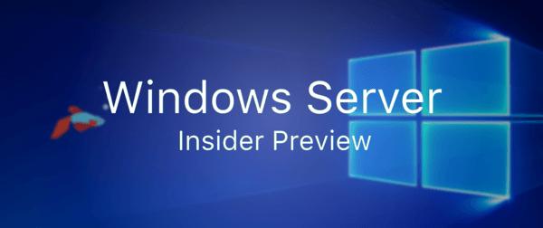 Image result for windows server 2019 insider preview