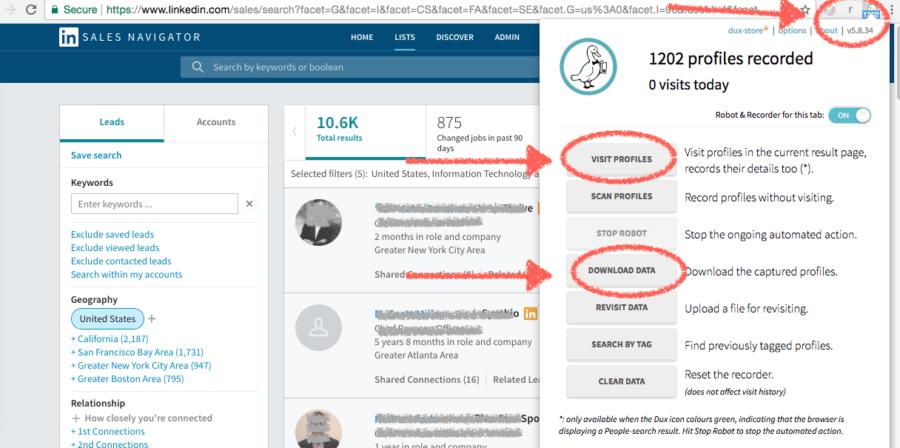 Automate LinkedIn Tool: Dux Soup - Win At LinkedIn