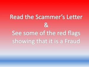 scam red flags