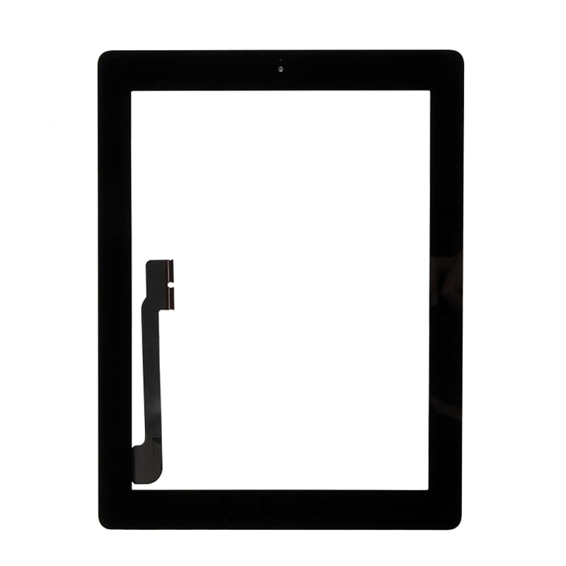 1PCS For iPad 4 A1458 A1459 A1460 Touch Screen With Home Button For iPad 4 Front Glass Display Touch Panel Replacement