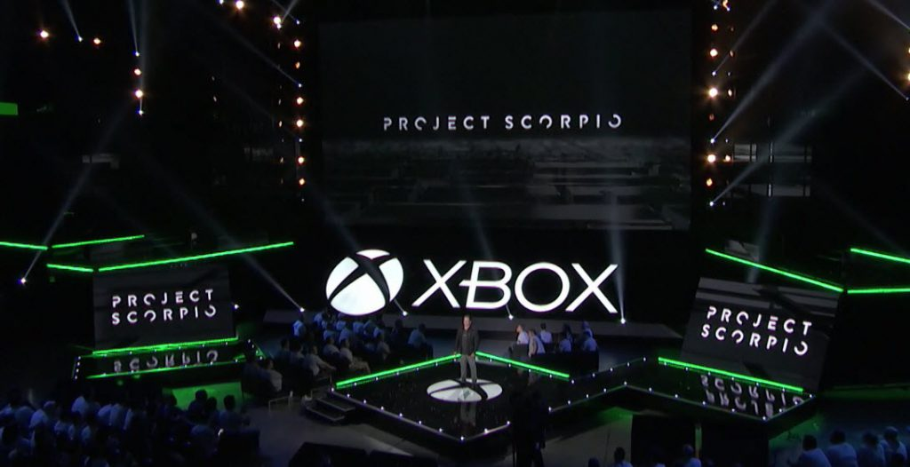 Xbox project scorpio E3 2016 official Microsoft press show