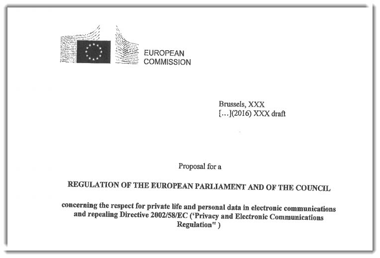 Leaked legislative draft of the European Parliament and the Council