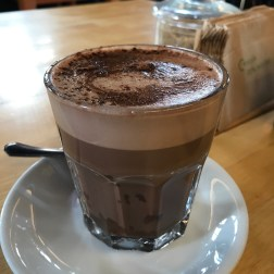 hot chocolate with soy milk