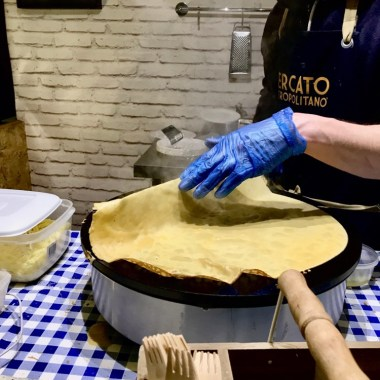 The makings of the Crepe