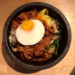 Spicy Pork with cooked egg