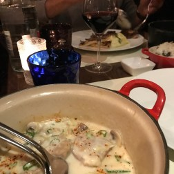 Veal Blanquette with vanilla and lemongrass, with flavour fried rice