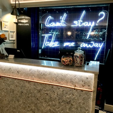 Mayfair Chippy Counter