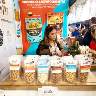 6 Joe & Seph popcorn flavours are lined up for tasting