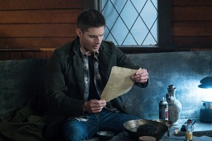 """Supernatural -- """"Hell's Angel"""" -- ImageSN1118A_0239.jpg -- Pictured: Jensen Ackles as Dean -- Photo: Liane Hentscher /The CW -- © 2016 The CW Network, LLC. All Rights Reserved"""