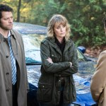 "Supernatural --""First Blood""-- SN1209b_0025.jpg -- Pictured (L-R): Misha Collins as Castiel and Samantha Smith as Mary Winchester -- Photo: Dean Buscher/The CW -- © 2016 The CW Network, LLC. All Rights Reserved"