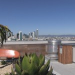 The Panoramic has a lovely roof top garden.