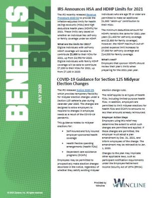 Benefits Buzz Preview