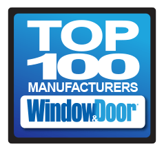 Special thanks to Window & Door magazine for recognizing Wincore® Windows and Doors as one of their Top 100 Manufacturers.