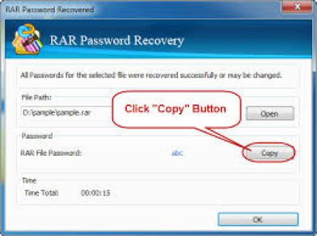 how to remove forgotten winrar password without software