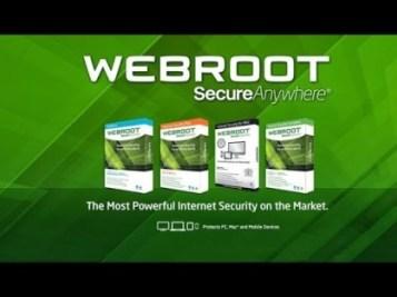 Webroot SecureAnywhere Antivirus 2021 Crack License Keys