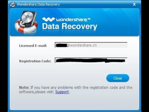 Wondershare Data Recovery Crack With Registration Code [Latest]