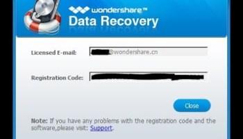 registration code for wondershare
