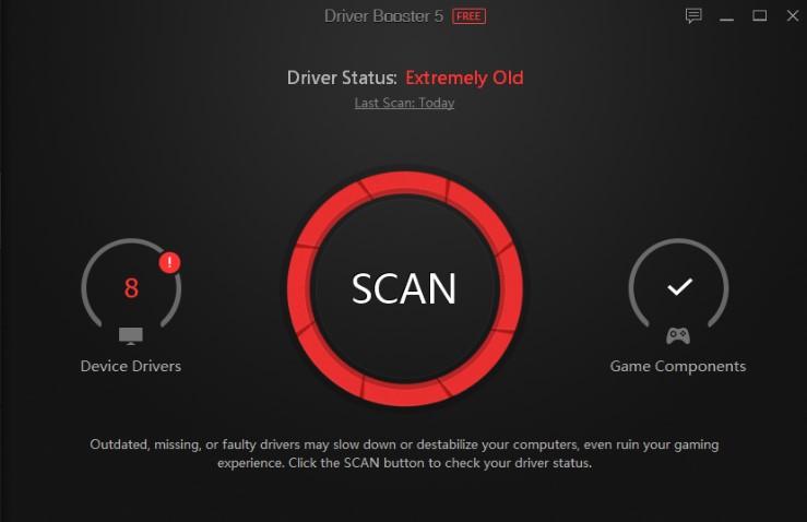 Driver Booster 5 key Pro License Key + Crack 100% Working