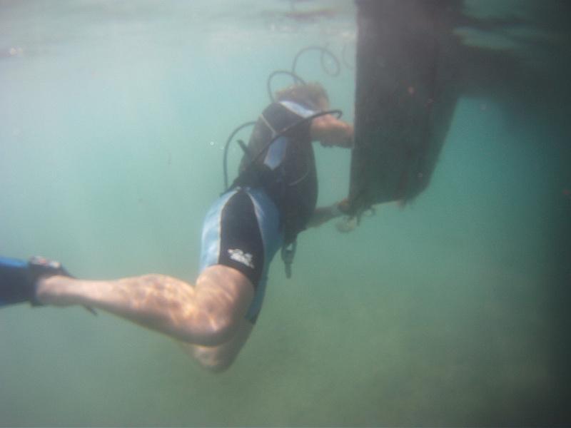 Schwere Geschütze: der Freediver ermöglicht es Unterwasser zu arbeiten