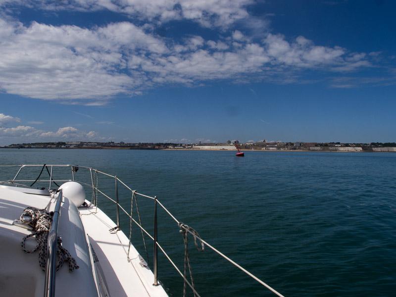Der Hafen von Ramsgate, bei bestem Wetter.