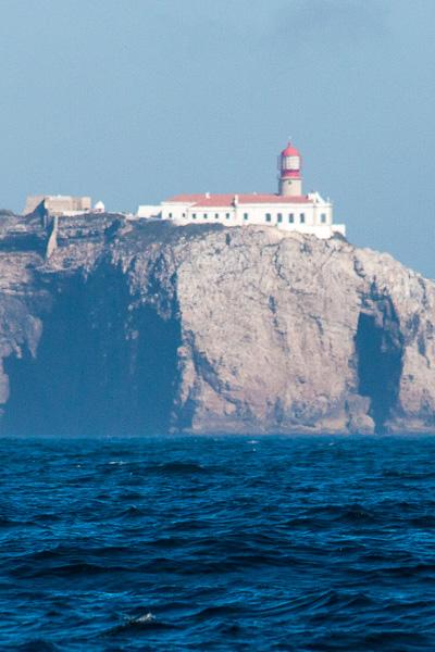 Ein stürmischer Empfang: Cabo Sao Vincente
