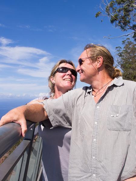 Cabo Girao, Blick zur Liebsten :-)