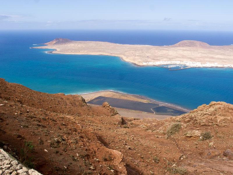 Highights Lanzarote: Blick auf La Graciosa