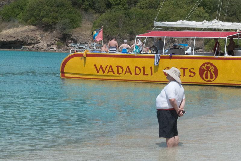 Antigua Deep Bay: Kreuzfahrer