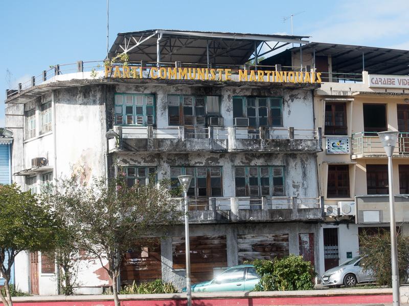 Inselrundfahrt Martinique: wozu Kommunismus führt :-).