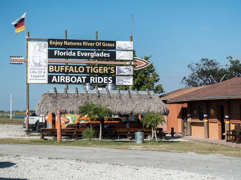 Mit Buffalo Tiger und dem Airboat in die Everglades