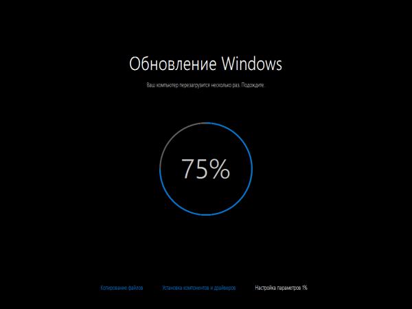 Atualização do Windows 10.