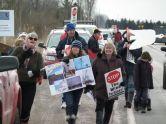 swans bog protest