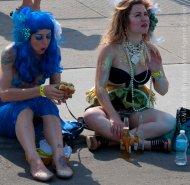 Even mermaids need refreshment