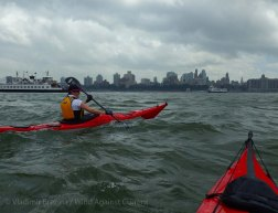 In the East River