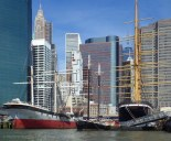 The ships of the South Street Seaport