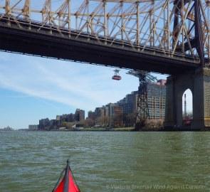 Queensboro (Ed Koch) Bridge and the Roosevelt Island tram