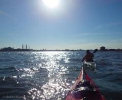Toward Rikers Island