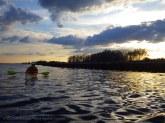 We paddle past Sheffield and toward Shea