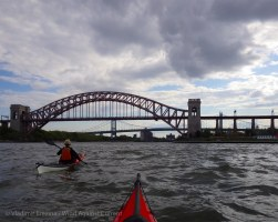 The Hell Gate bridges again, from the other side