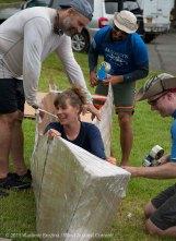 Cardboard Kayak Race 3