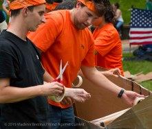 Cardboard Kayak Race 7