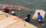 Cardboard Kayak Race 16