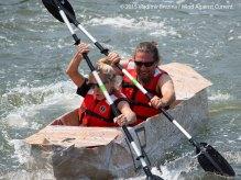 Cardboard Kayak Race 31