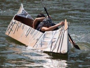 Cardboard Kayak Race 35