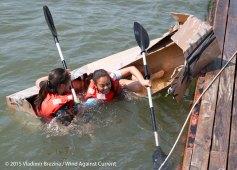 Cardboard Kayak Race 38