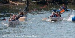 Cardboard Kayak Race 60