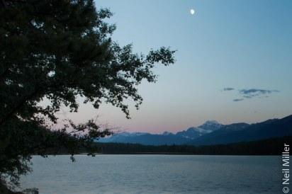 Sunset at Pyramid Lake