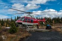 Arrival at Mt. Assiniboine Lodge