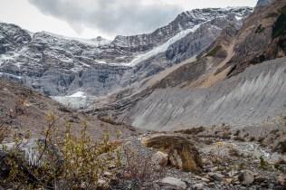 Glacier on Mount Mary Vaux