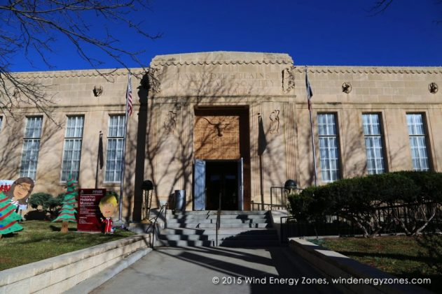 Entrance to the Outside Panhandle–Plains Historical Museum